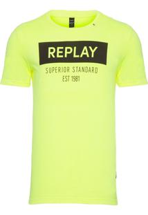 Camiseta Masculina Superior - Amarelo