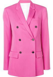 Calvin Klein 205W39Nyc Blazer Estruturado - Rosa