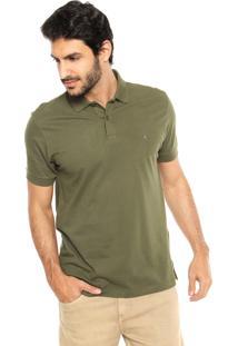 Camisa Polo Aramis Reta Verde
