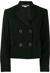 Stella Mccartney Blazer Cropped - Preto