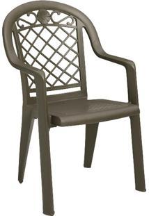 Cadeira Grosfillex Jamaica, Bronze