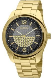 Relógio Euro Eu2034Al/4P - Feminino-Dourado