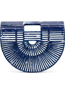 Cult Gaia Clutch 'Ark' - Azul
