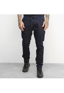 Calça Jeans Jogger Kvra Brand Linha Premium Masculina - Masculino