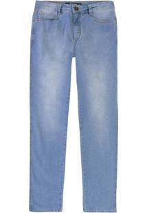 Calça Jeans Masculina Skinny Em Algodão