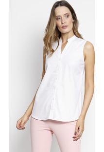 Camisa De Poã¡ - Branca & Vermelha - Intensintens