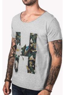 Camiseta Hermoso Compadre H Masculina - Masculino-Cinza