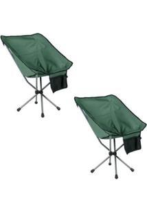 Kit 2 Cadeiras Dobráveis Para Camping Guepardo Joy - Unissex