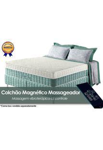 Colchão Anjos Confort Magnético C/Massagem Queen 158