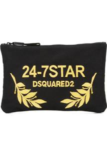 Dsquared2 Clutch '24-7 Star' - Preto