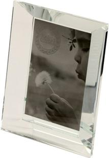 Porta-Retrato De Cristal Decorativo Ágata