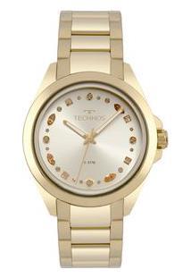 Relógio Technos Feminino Crystal Dourado 203Aaa/4D 203Aaa/4D