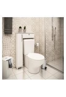 Armário De Banheiro 801 Branco - Ozini Móveis