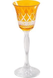 Taça De Cristal 60Ml Amarela Lodz