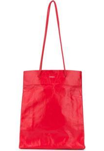 Medea Shopping Tote Bag - Vermelho