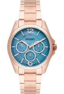 Relógio Feminino Orient Frssm022 - Unissex-Rose Gold