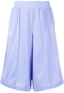 Kappa Bermuda Com Bolsos - Azul