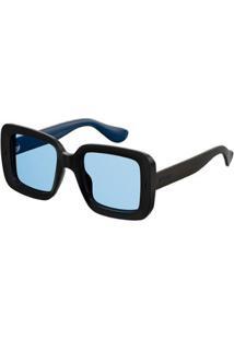 Óculos De Sol Havaianas Geriba Feminino - Feminino-Preto