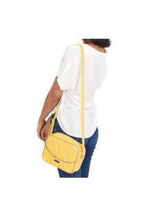 Bolsa Transversal Maria Milão Shoulderbag Corrente Amarelo