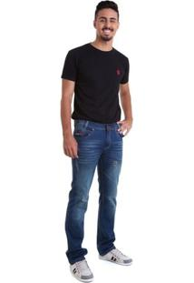 Calça Jeans Versani - Masculino-Azul