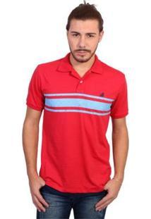 Camisa Polo England Polo Club Listrada Masculina - Masculino