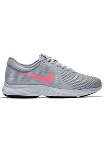 Tênis Nike Revolution 4 Feminino - Feminino-Prata+Rosa