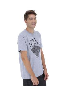 Camiseta Rusty Silk Neil Diamond Sb - Masculina - Cinza
