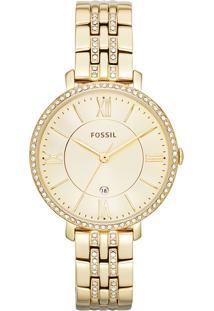 5918d59fd05e8e R$ 109000,00. Monte Carlo Relógio Feminino Aço Fossil Dourado Em