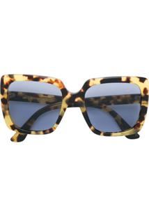 R  2405,00. Farfetch Gucci Eyewear Óculos De Sol Quadrado ... 129b35e15d