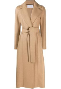 Harris Wharf London Belted Trench Coat - Neutro