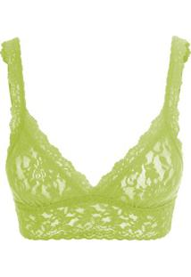 Sutiã Triângulo Renda Signature Lace Hp Limao Lime Pie