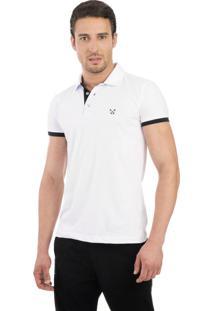 81c57f4a8a ... Camisa Polo Live Light Branca 1014-01 - G