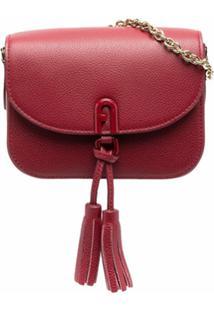 Furla Bolsa Mini Com Tassel 1927 - Vermelho