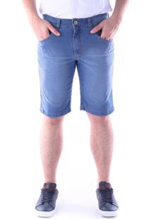 Bermuda 655 Jeans Traymon Slim Azul Indigo