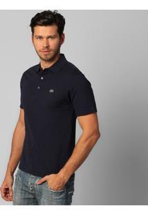Camisa Polo Lacoste Super Light Masculina - Masculino-Marinho