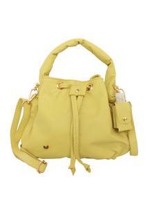 Bolsa Shape Envelope Amarelo Citronela Feminina Atz 13