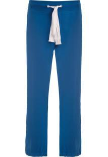 Calça Masculina De Moletom - Azul