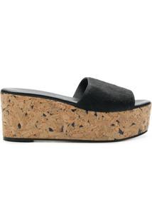 Solange Sandals Sandália Com Plataforma - Preto