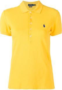 Polo Ralph Lauren Camisa Polo Clássica - Amarelo 6734636bdb5bf