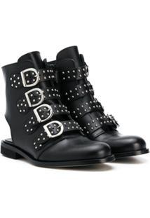 Gallucci Kids Ankle Boot Com Tachas - Preto