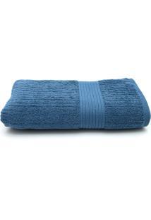 Toalha De Banho Gigante Buddemeyer Fio Penteado 90X150 Azul