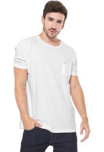 Camiseta Richards Bolso Branca