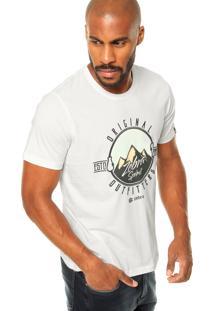 Camiseta Zebra Sierra Madre Branca