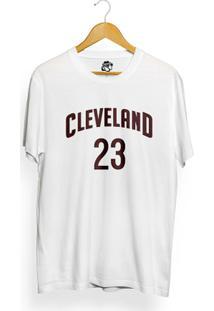 Camiseta Bsc Cleveland 23 - Masculino-Branco