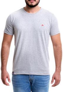 Camiseta Masculina - Basic Gray