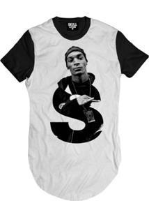Camiseta Longline Rapper S Masculina - Masculino