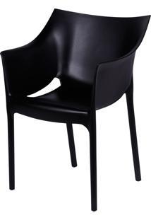 Cadeira Thais Preto Or Design - Preto - Dafiti