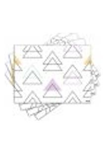 Jogo Americano - Geometria Com 4 Peças - 745Jo