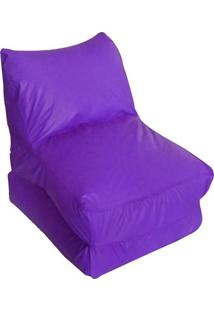 Puff Versátil Indivudual Corano Roxo Stay Puff