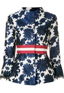 Bazar Deluxe Jacquard Blazer - Azul